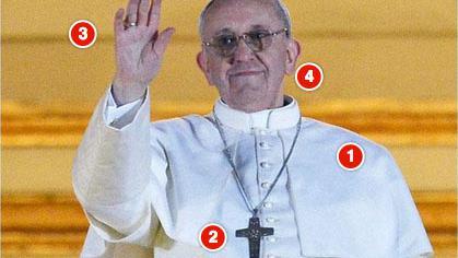 La première apparition du pape François, une petite révolution