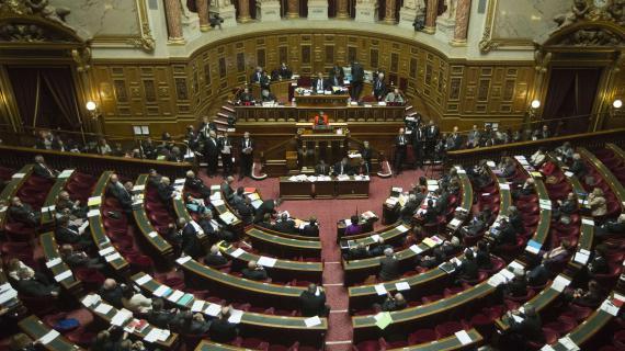 Christiane Taubira s'adresse à l'Assemblée le 4 avril 2013, dans le cadre du débat sur le projet de loi sur le mariage pour tous.