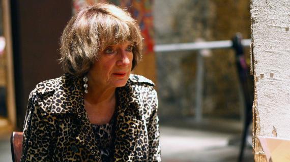 La sociologue Monique Pinçon-Charlot en octobre 2012.