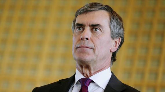 L'ancien ministre du Budget JérômeCahuzac, le 4 octobre 2012, lors d'une conférence de presse sur l'industrie pétrolière à Paris.