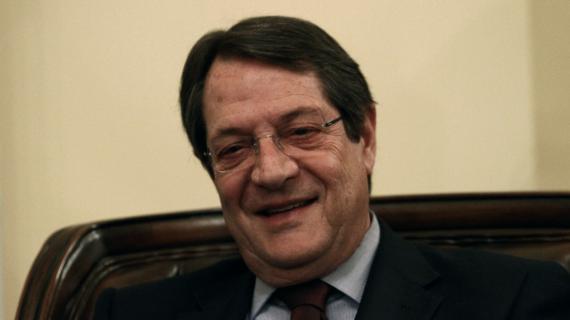 Le président chypriote, Nicos Anastasiades, le 4 avril, à Nicosie.