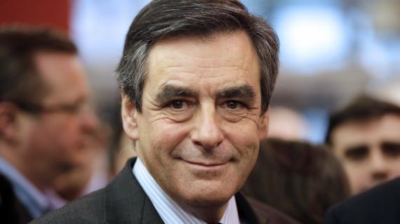 L'ancien Premier ministre, François Fillon (UMP), lors du Salon de l'agriculture à Paris, le 28 février.