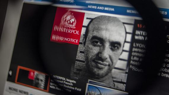 Photo de la demande d'arrestation internationale publiée par Interpol sur son site, le 15 avril 2013.