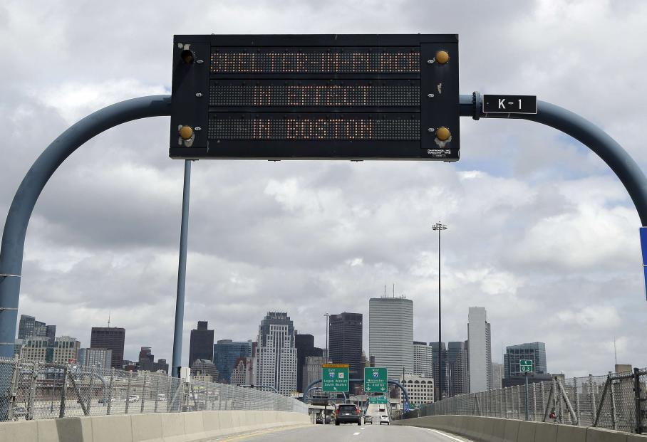La sécurité de la ville de Boston a été renforcée au maximum.