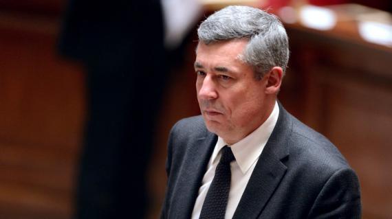 Le député UMP des Yvelines Henri Guaino, le 26 mars 2013 à l'Assemblée nationale, à Paris.