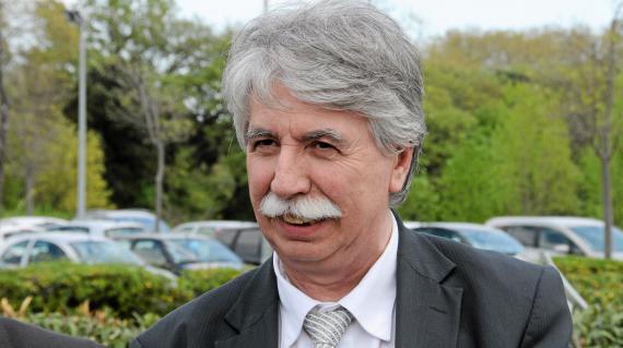 Patrick Maugard, le maire socialiste de Castelnauday, le 22 avril 2013.