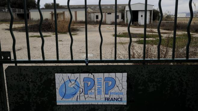 Les locaux de l'entreprise PIP, àLa Seyne sur Mer (Var), le 27 janvier 2012.