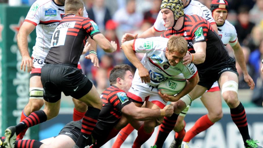Rugby toulon bat les saracens et rejoint clermont en finale de la coupe d 39 europe - Rugby toulon coupe d europe ...