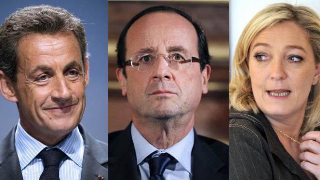 Au premier tour de la présidentielle, le 22 avril 2012, François Hollande avait obtenu 28,63% des suffrages, Nicolas Sarkozy 27,18% et Marine Le Pen 17,90%.