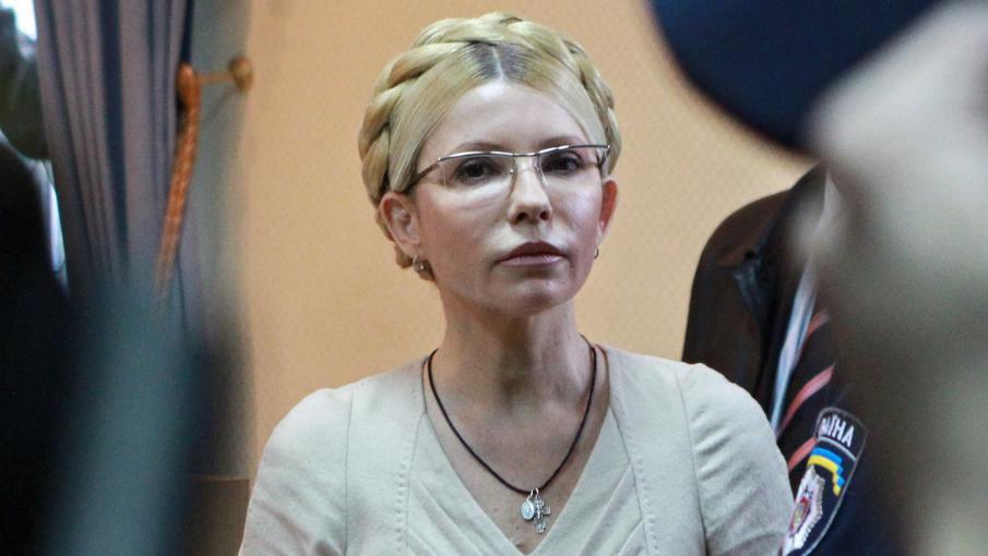 Ioulia Timochenko, lors de son procès, le 11 octobre 2011, à Kiev (Ukraine).