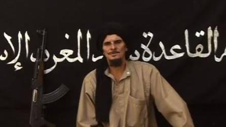 Gilles Le Guen dans une vidéo diffusée sur YouTube le 9 octobre 2012. Il y met en garde la France pour son intervention militaire au Mali.