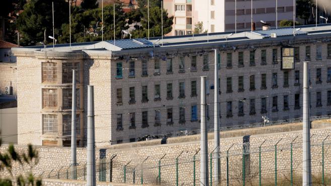 La prison des Beaumettes à Marseille, le 10 décembre 2012.