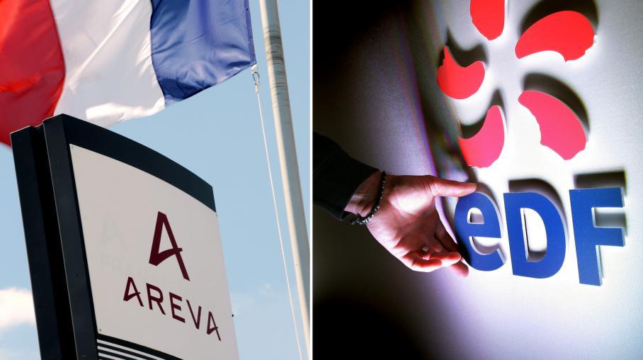 L'Etat vendre une partie de ses parts d'Areva et EDF.