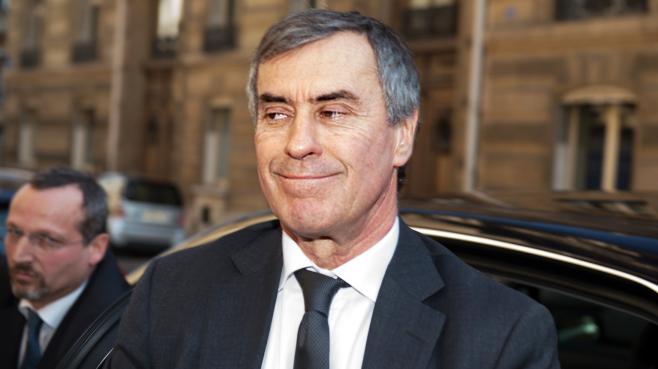 """Jérôme Cahuzac, le 2 avril 2013, peu de temps avant son audition par les juges en charge de l'enquête qui le vise pour """"blanchiment de fraude fiscale""""."""