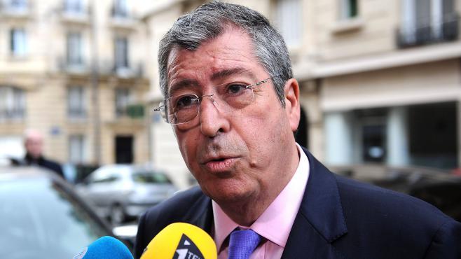 Le député UMP Patrick Balkany, le 10 avril 2013 à Paris.