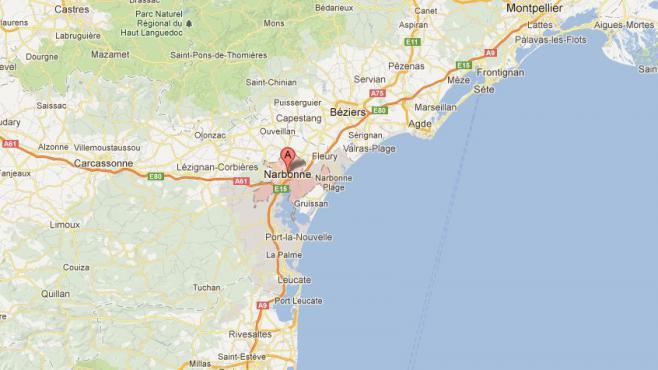 L'adolescent a tenté de braquer une bijouterie située dans une rue piétonne du centre-ville de Narbonne (Aude)vendredi 10 mai 2013.