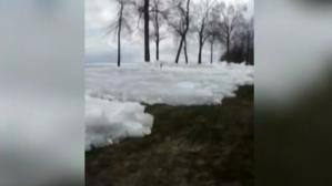 Vague de glace dans le Minnesota