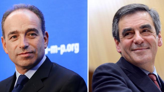 Le président de l'UMP, Jean-François Copé (à g.), et l'ancien Premier ministre, François Fillon.