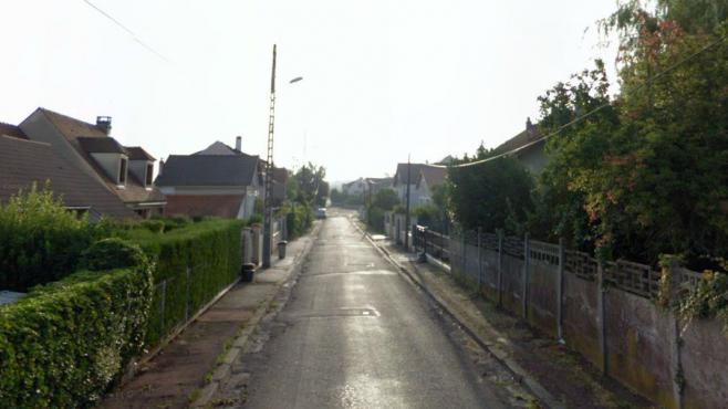 La rue dudocteur Bergonié, à Lagny-sur-Marne (Seine-et-Marne), où le corps d'une jeune femme à demi-calciné a été retrouvé le 14 mai 2013.