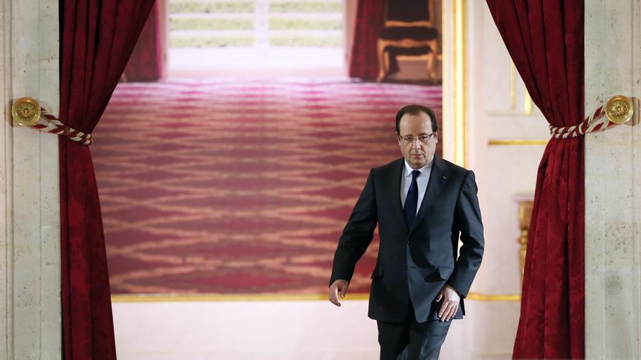 François Hollande, le 16 mai à l'Elysée.