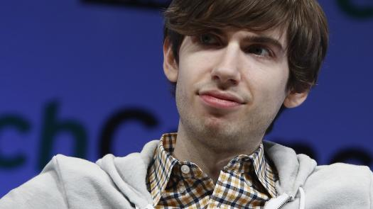 Le fondateur de Tumblr, David Karp, le 1er mai 2013 à New York (Etats-Unis).
