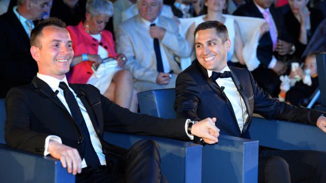 Vincent Autin et Bruno Boileau se sont dits oui à 29 mai 2013 à Montpellier. C'est le premier mariage de deux personnes du même sexe en France.