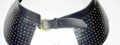 Cette ceinture en cuir noir a  eacute t eacute  retir eacute e de la vente f3dece405d2