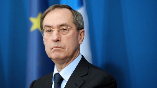 Claude Guéant, le 2 décembre 2011 à Paris, alors qu'il était ministre de l'Intérieur.