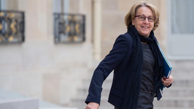 La ministre de la Fonction publique, Marylise Lebranchu, le 14 mai 2013 au palais de l'Elysée, à Paris.