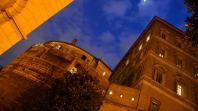 Les bâtiments del'Institut pour les œuvres de religion (IOR), la banque du Vatican, le 18 février 2012.