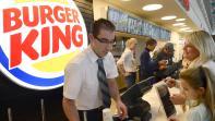 Le Burger King de l'aéroport de Marseille, à Marignane (Bouches-du-Rhône),le 22 décembre 2012.