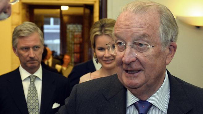 Albert II, le 17 juin 2013, à Bruxelles.