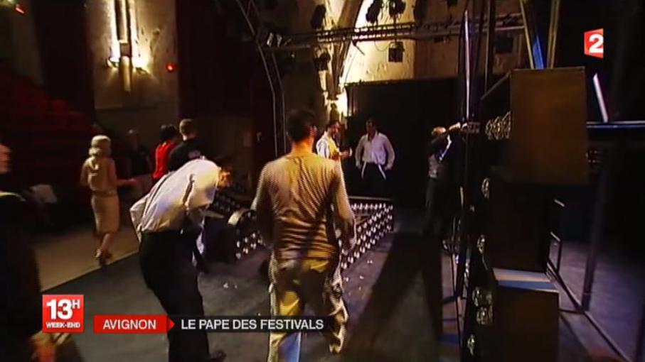 Festival d 39 avignon ouverture de la 67e dition en replay for Ouverture castorama avignon