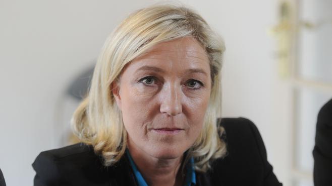 Marine Le Pen, le 26 juin 2013, à Forbach (Moselle).