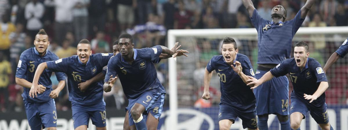 Football la france championne du monde des moins de 20 ans - Coupe du monde moins de 20 ans ...