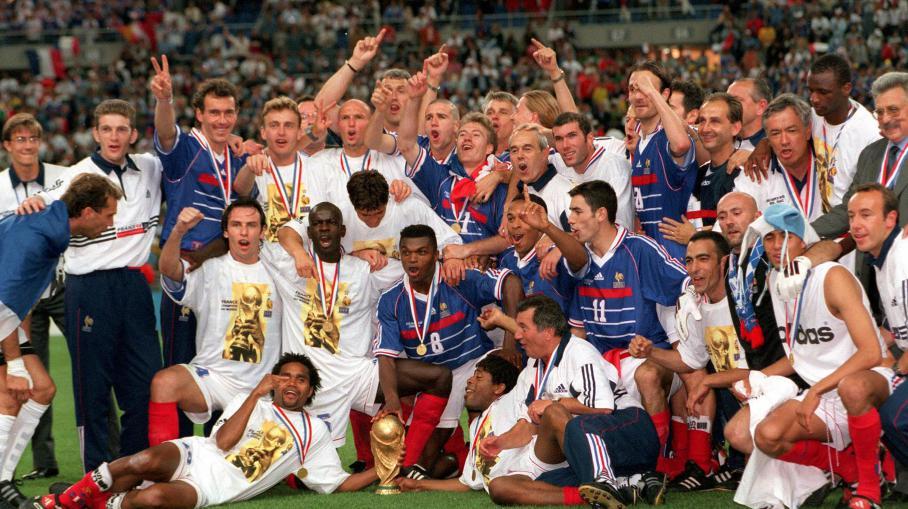 Foot la coupe du monde 1998 pas pargn e par le dopage - France 98 coupe du monde ...