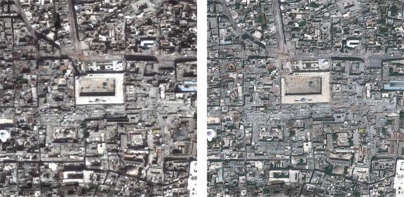 Alep Ville Syrienne D 233 Vast 233 E Par Les Bombardements