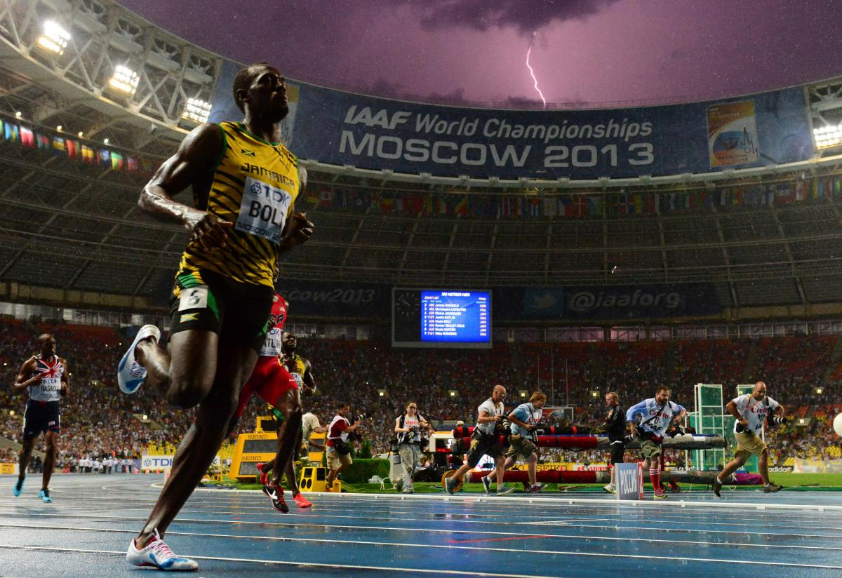 Mondiaux d'athlétisme : tonnerre dans le ciel et éclairs sur