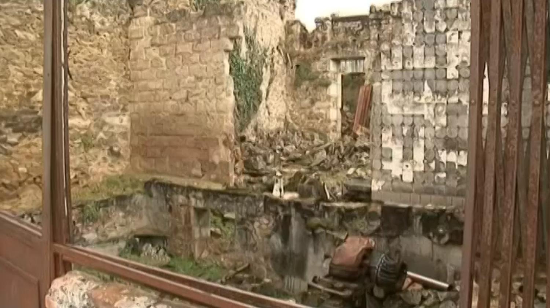 video seconde guerre mondiale le village martyr d 39 oradour sur glane un patrimoine en danger. Black Bedroom Furniture Sets. Home Design Ideas