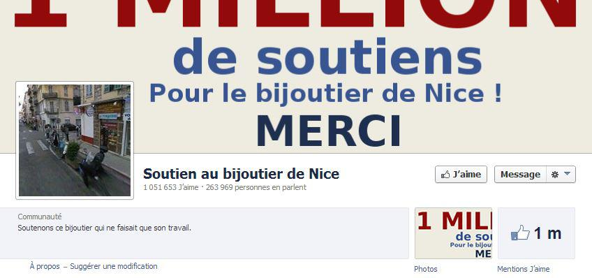 Page facebook bijouterie