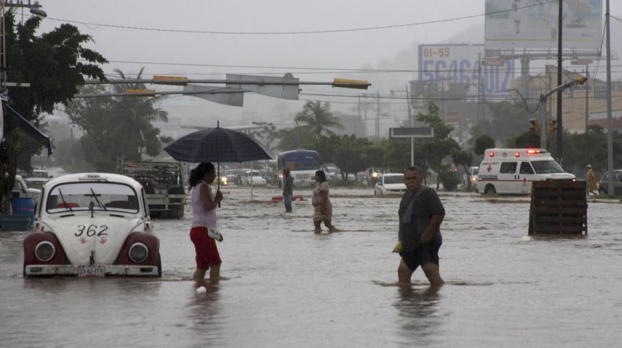 Mexique au moins 20 morts apr s un ouragan et une - Piscine tropicale france ...