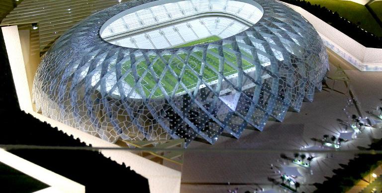 Le qatar accus d 39 esclavagisme sur les chantiers de la coupe du monde 2022 - Stade coupe du monde 2022 ...