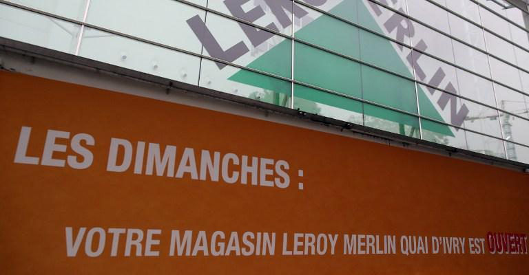 Castorama et leroy merlin ouvriront bien leurs magasins dimanche en ile de france - Leroy merlin magasin paris ...