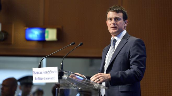 Le ministre de l'Intérieur, Manuel Valls, le 30 septembre 2013 à Paris.