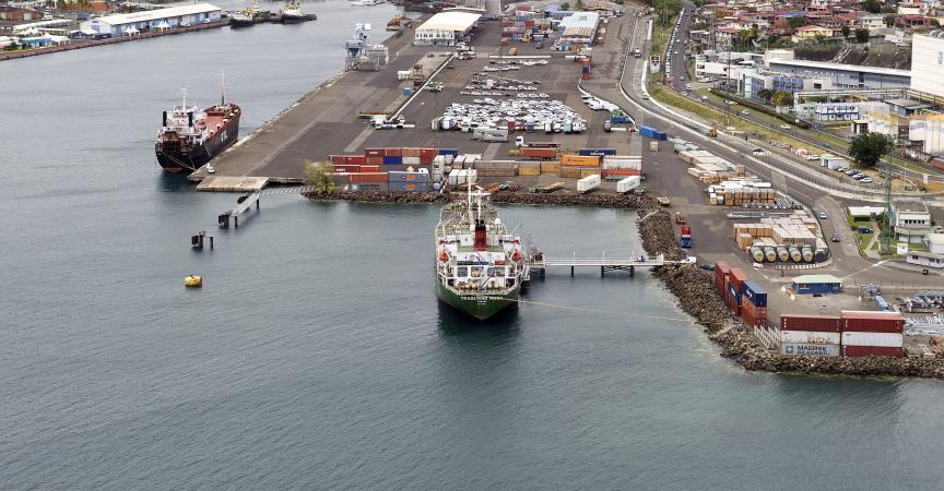 Martinique les douaniers inspectent 4000 tonnes de bananes et font chou blanc - Le port de fort de france ...