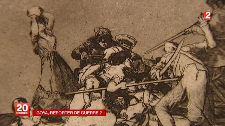 Exposition : Goya, peintre de guerre en replay - 15 octobre 2013