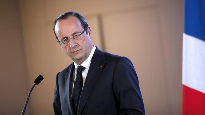 Le président de la République François Hollande, le 23 février 2013 à Paris.