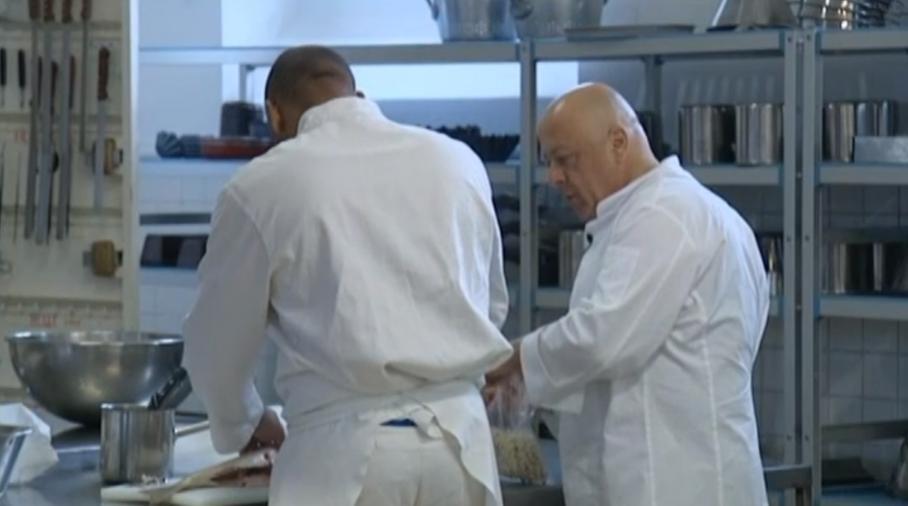 Video les cours en prison du chef toil thierry marx for Cuisinier marx