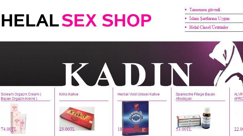 sexe brutale sex-shop halal
