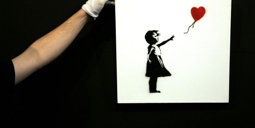 achat tableau banksy